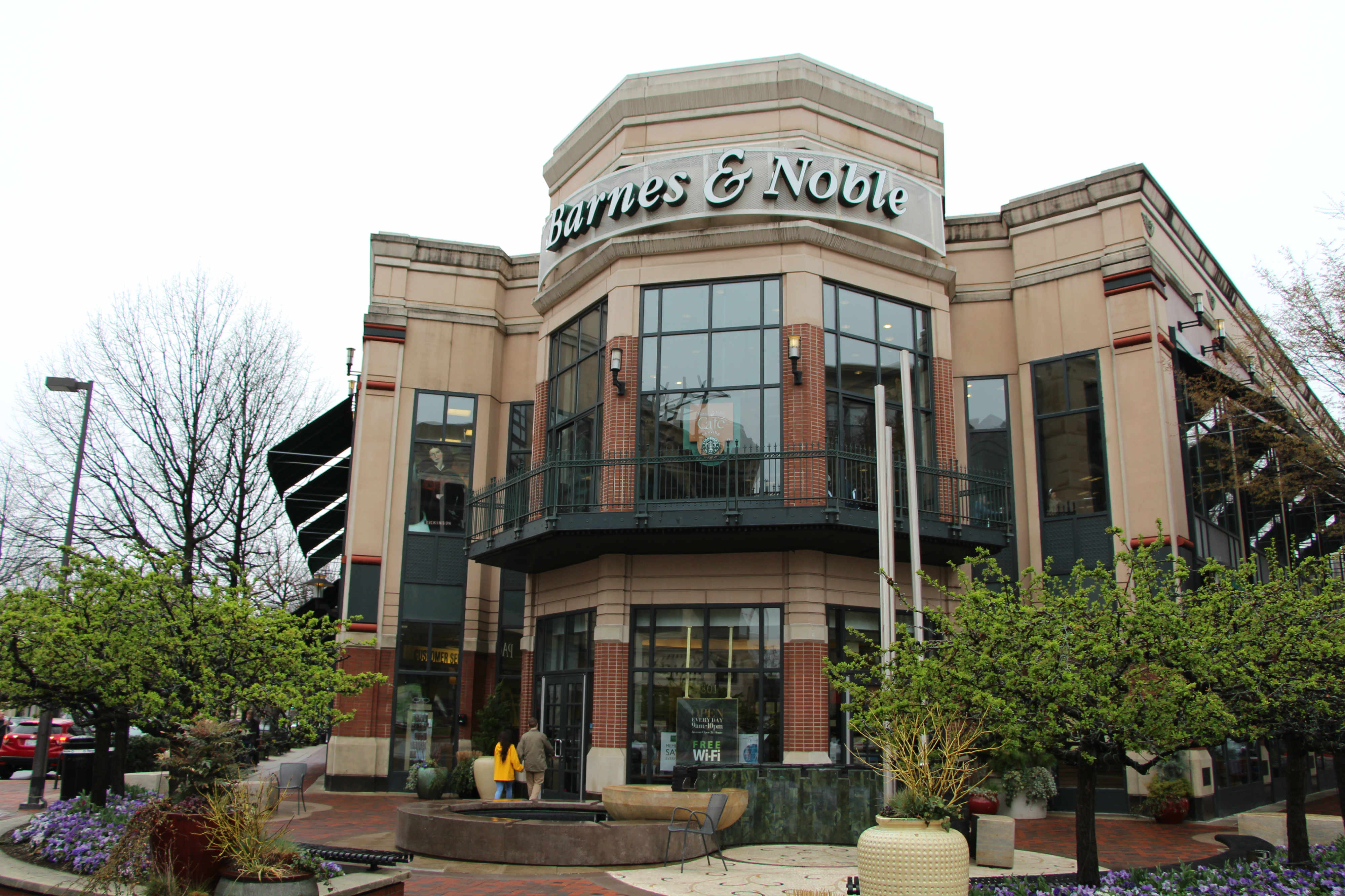 Anthropologie To Take Over Barnes Noble Space on Bethesda Row