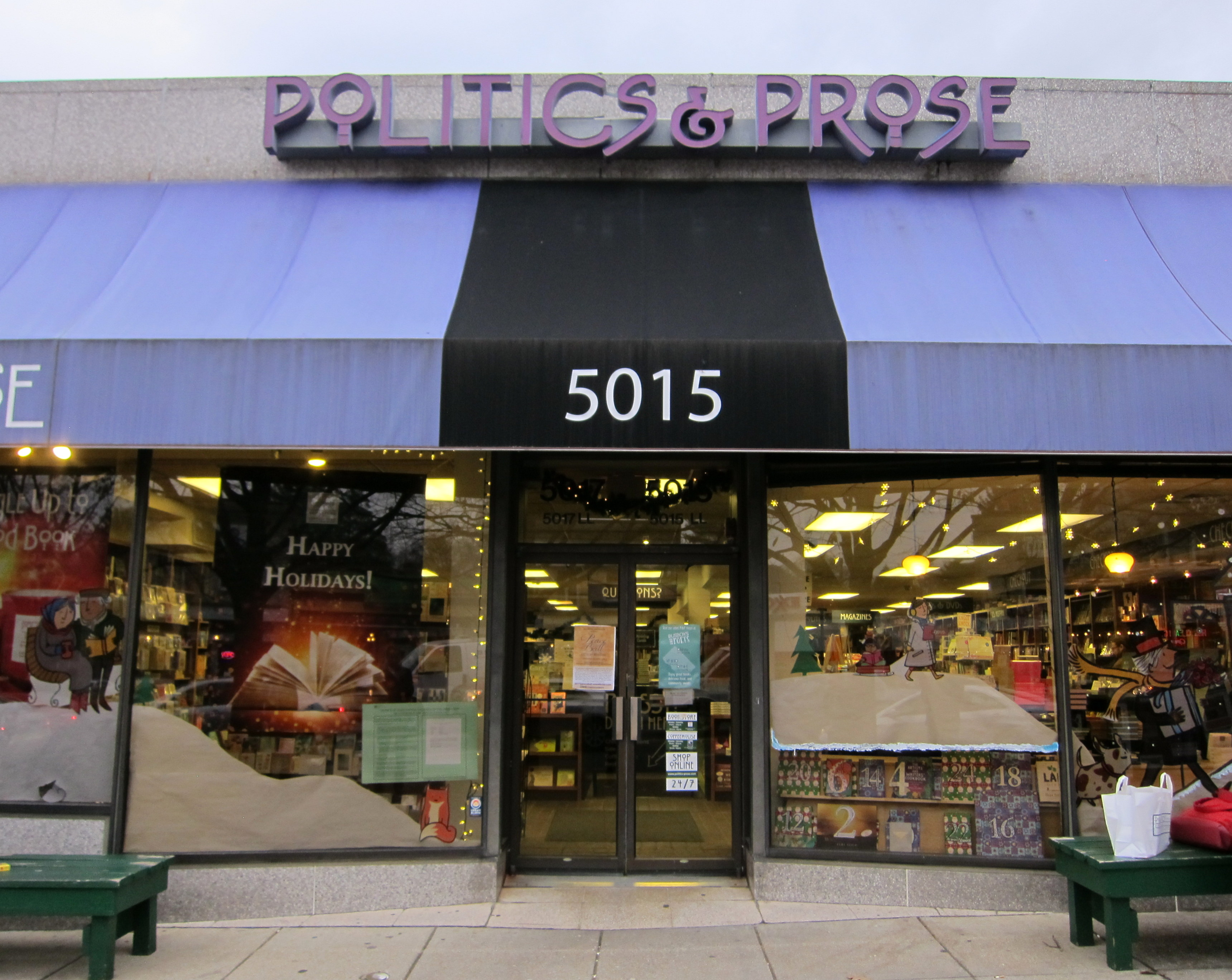 Politics and Prose To Consider Opening Bethesda Store After News