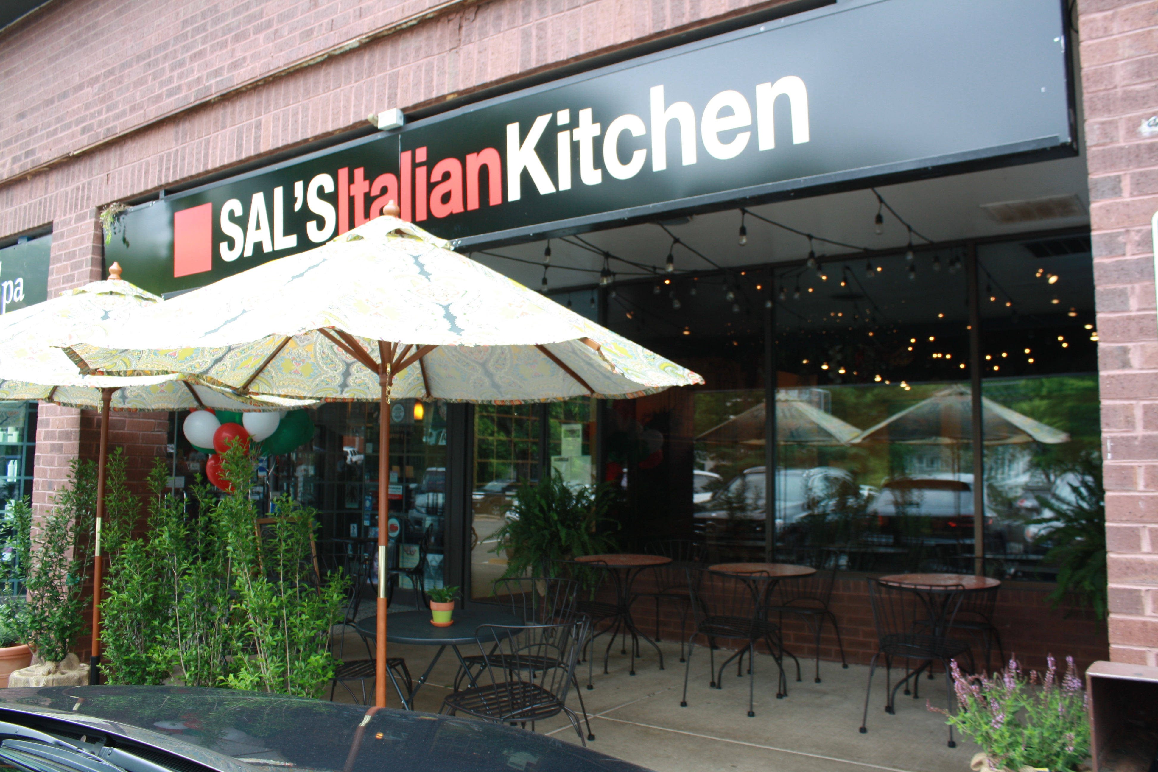 Conversion of indigo house to sal s italian kitchen now for Italian kitchen silver spring maryland