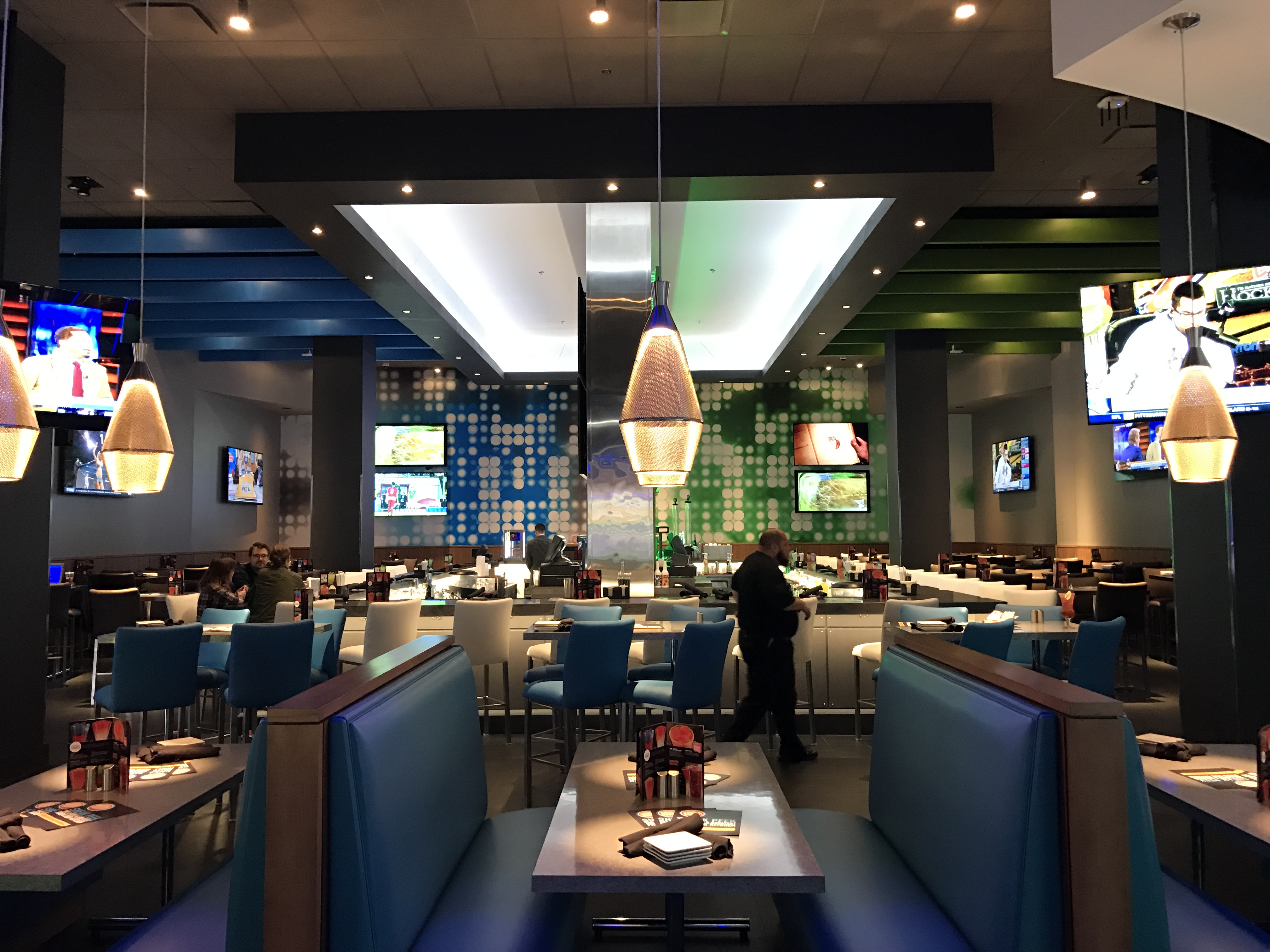 Inside silver spring s new dave buster s bethesda beat for Best private dining rooms nyc 2016