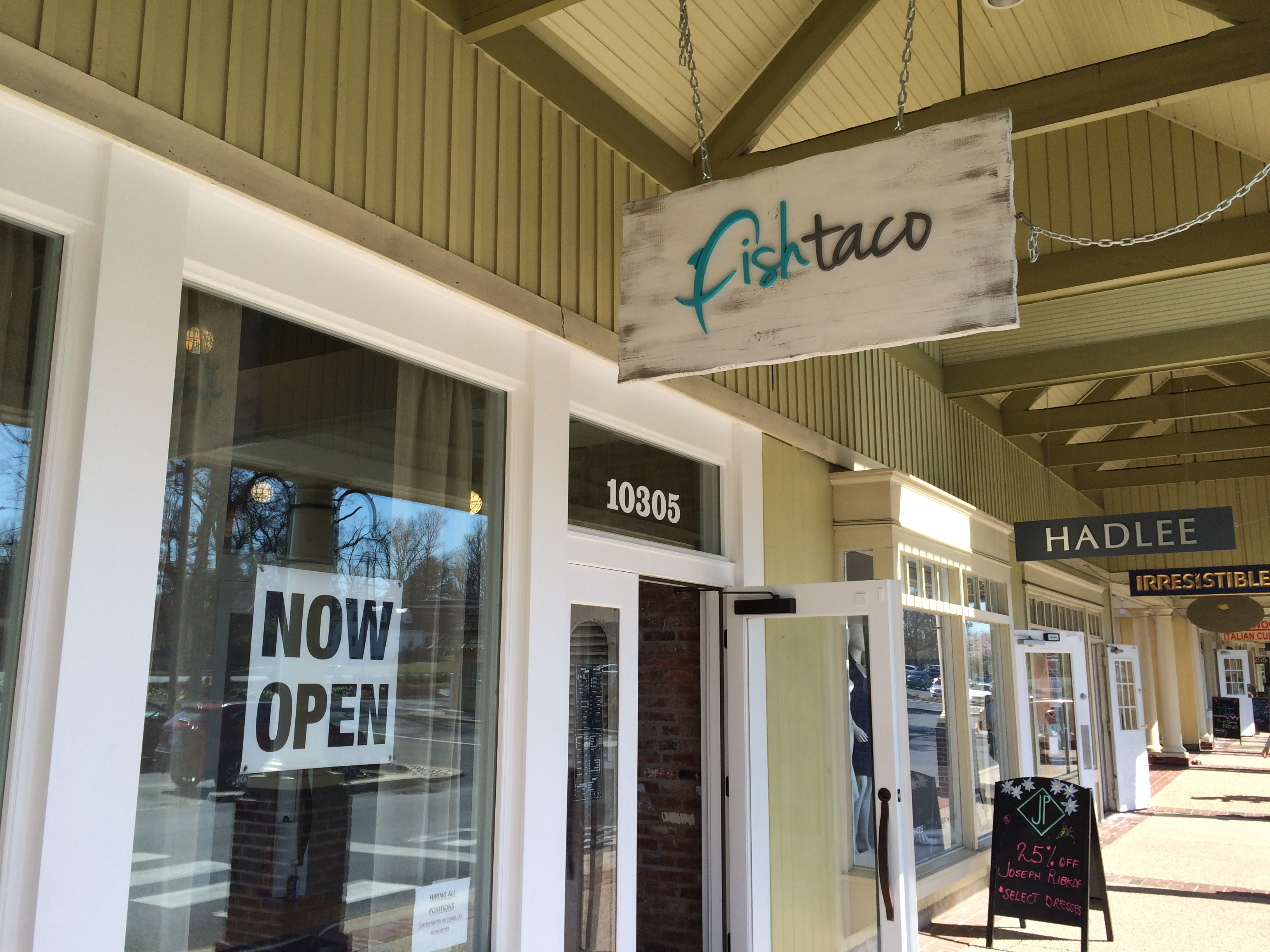 fish taco opens at wildwood shopping center bethesda
