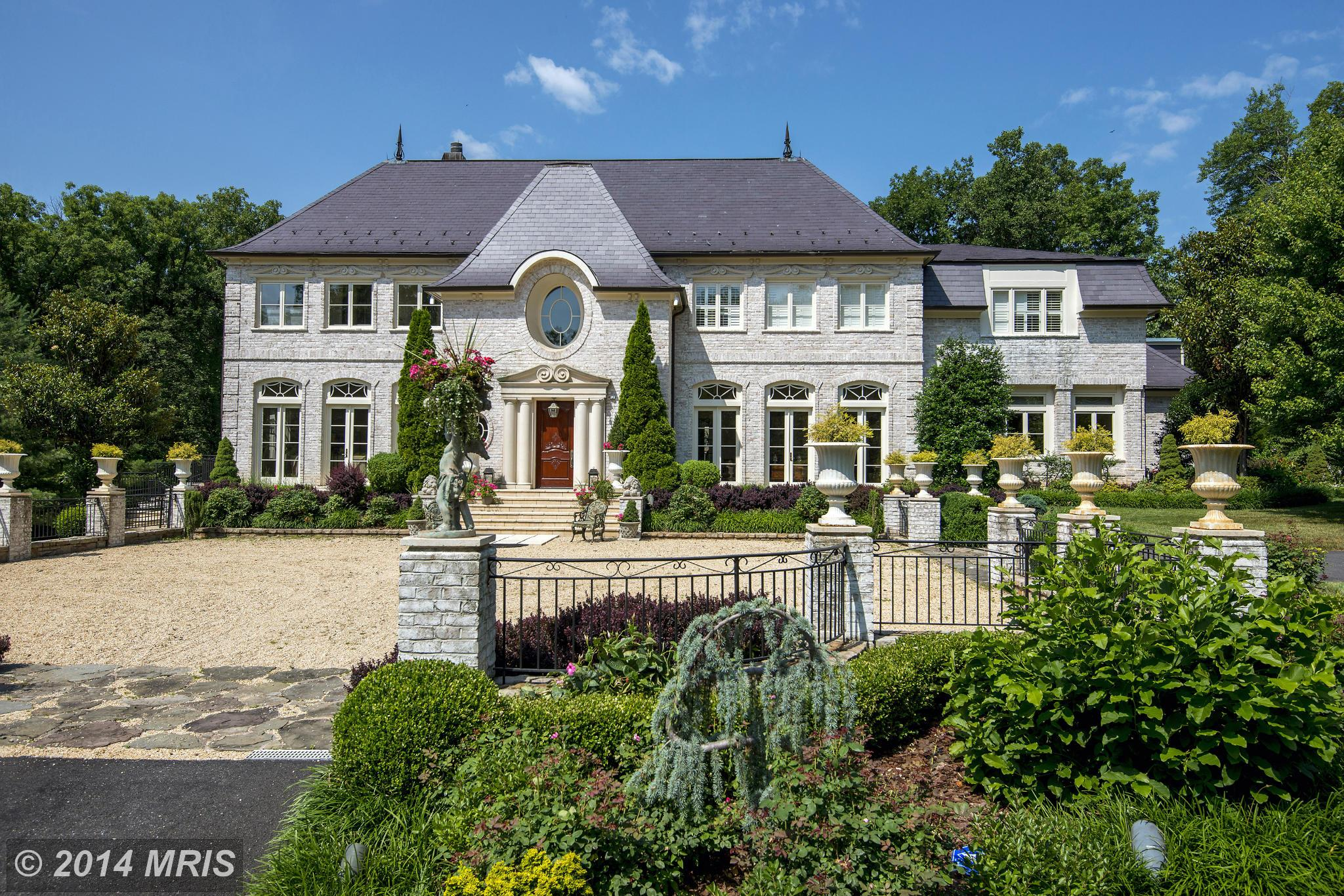 Two potomac homes among most expensive sold in d c metro for Most expensive homes in maryland