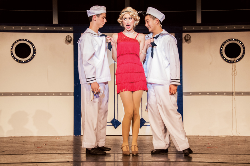 The school's production of Anything Goes. Photo by Marcus De Paula