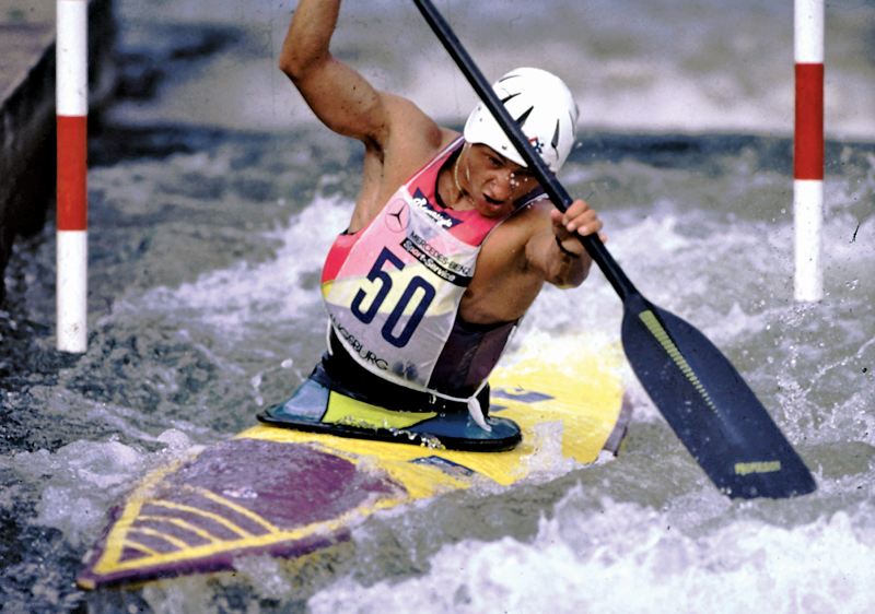 Humeau during his competition days.