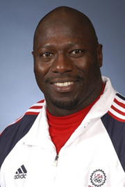 Ferguson's headshot from the 2004 Summer Olympics in Athens.