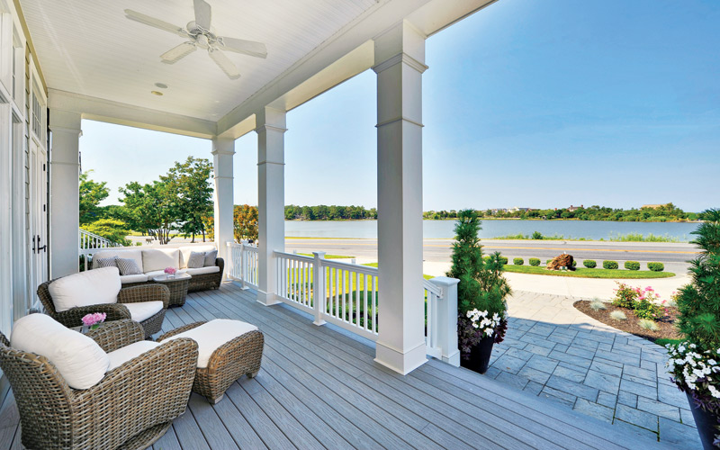Beach House With Two Water Views in Rehoboth - Bethesda ...