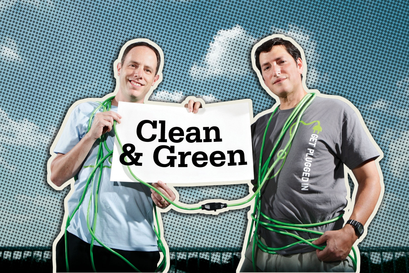 Gary Skulnik, left, and Charles Segerman co-founded Clean Currents, which was recently named the fastest growing retail energy company in the nation by Inc. magazine. Photo credit: Jonathan Timmes