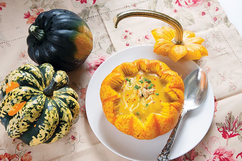 Simply gourd geous bethesda magazine november december for Academie de cuisine bethesda md