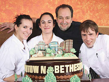 (Left to right) Katja Luethi, Kaitlin Guiffre, Patrick Musel and Christian Haug