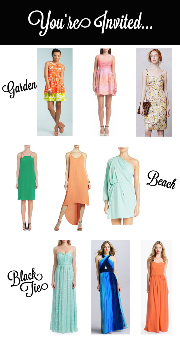 What to Wear to a Spring Wedding - Rock This Frock - May-June 2013