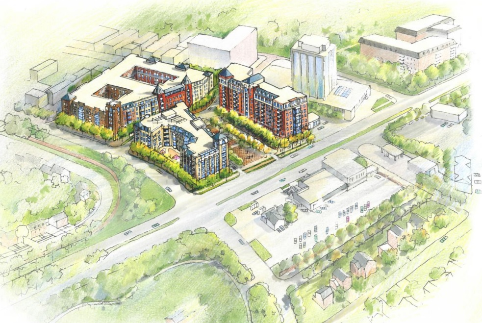 Terrific Developers Unveil Plans For Mixed Use Chevy Chase Lake Project Largest Home Design Picture Inspirations Pitcheantrous