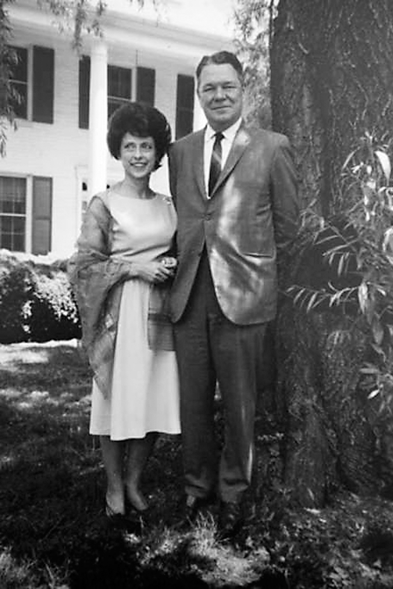 Lindy and Hale Boggs at their Bethesda home