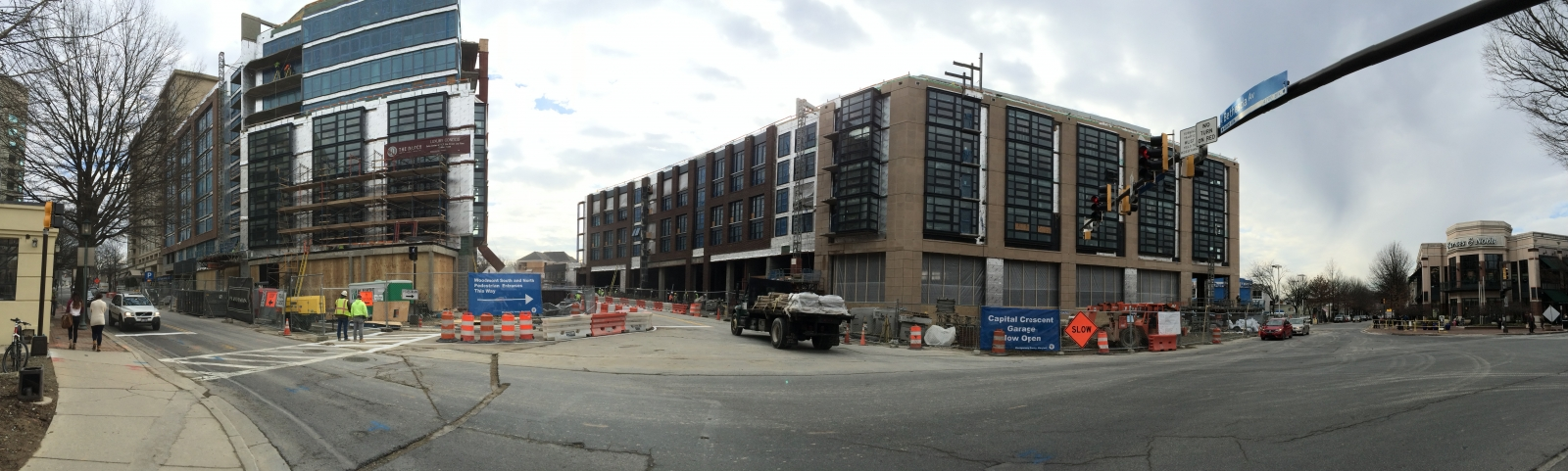 Woodmont Avenue New Parking Garage Open In Bethesda