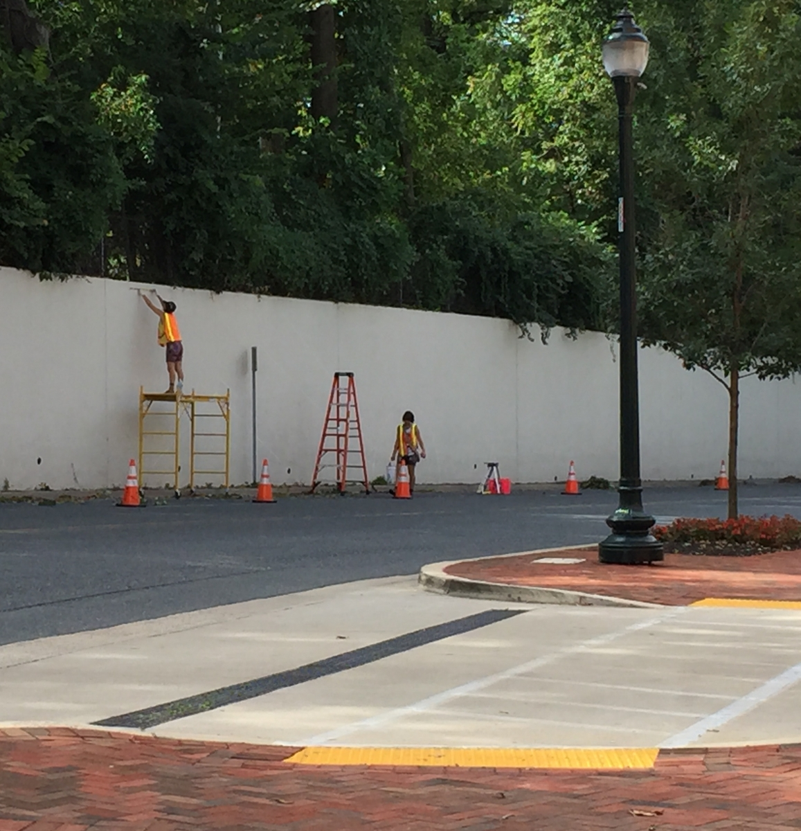 Work Starts On 400 Foot Long Bethesda Mural