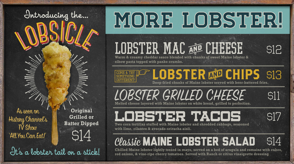 Lobster me to open in late october at westfield montgomery for Fish taco bethesda md