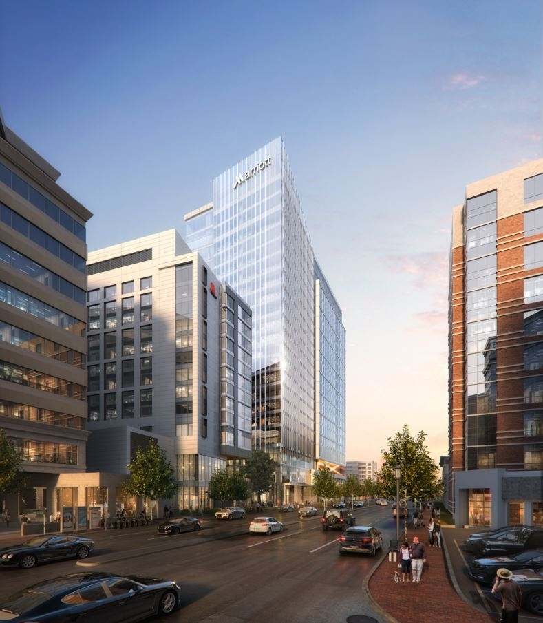 Headquarters To The Downtown Bethesda Site In 2022 When New Is Completed Hotel Scheduled Open First Fall Of 2021