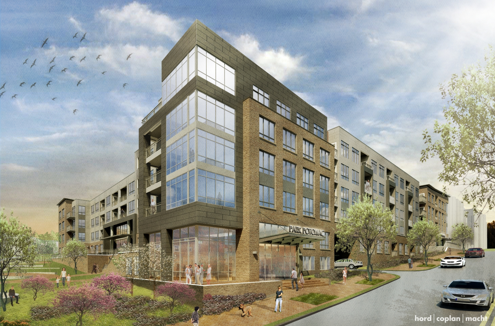 tenants announced for new office building at park potomac