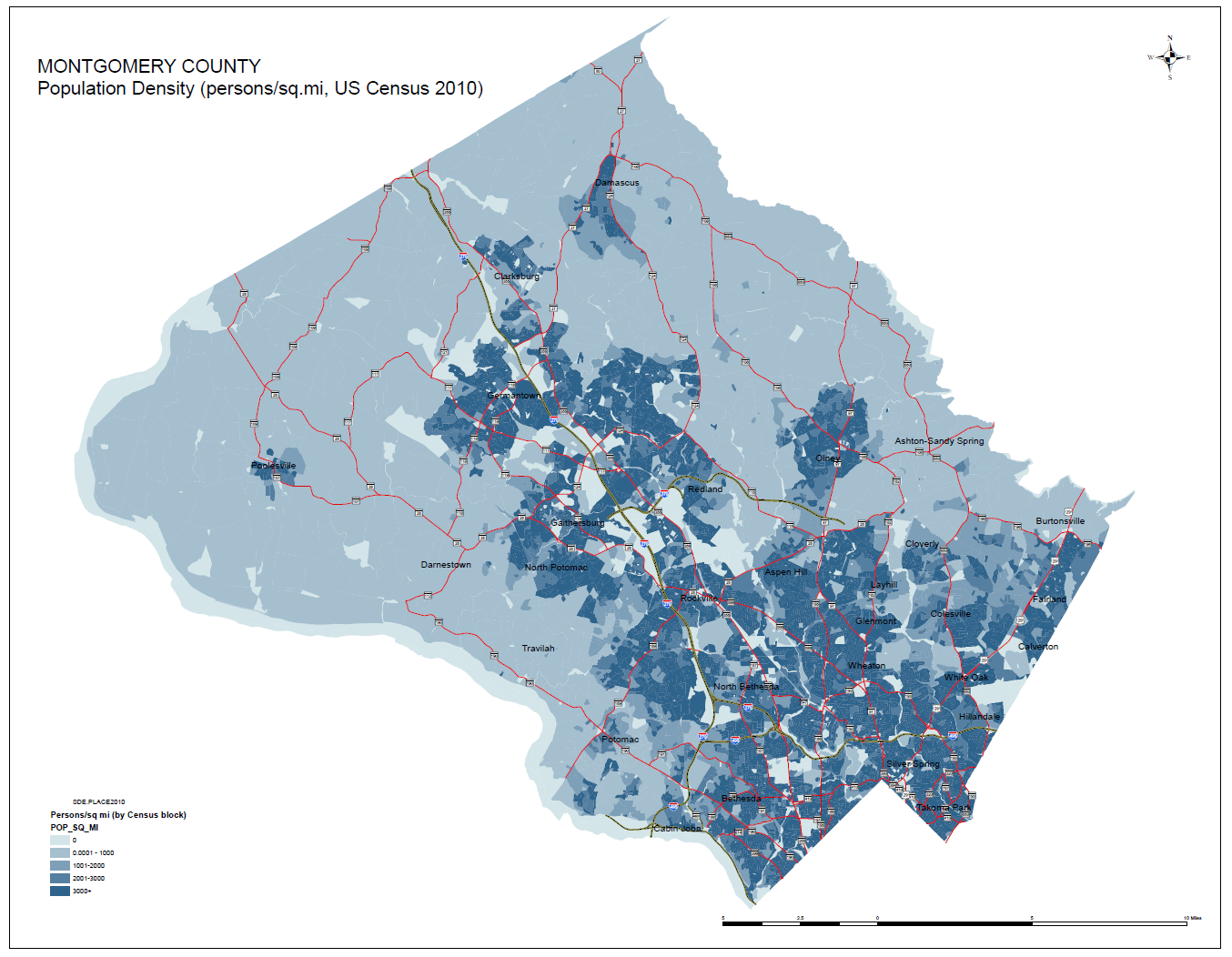 Census Bureau Estimates Population Growth Of More Than 7000 In Montgomery County - Bethesda ...