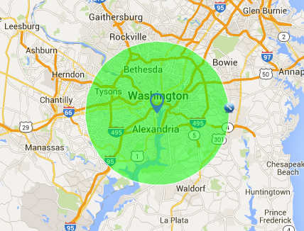 Extended Ban On Flying Drones And Model Aircraft Near DC Lifted - Drone ban map