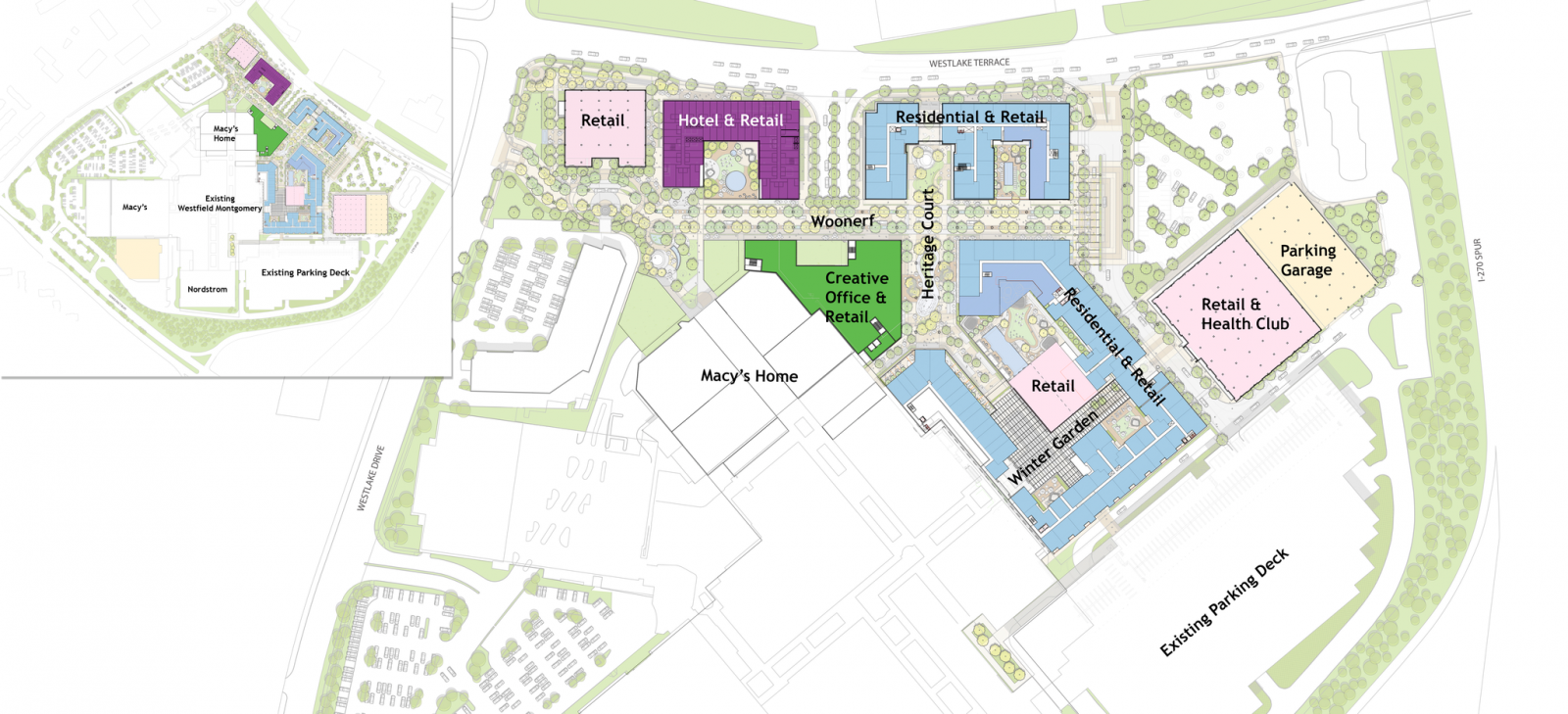 New Development at Westfield Montgomery Mall Could Bring