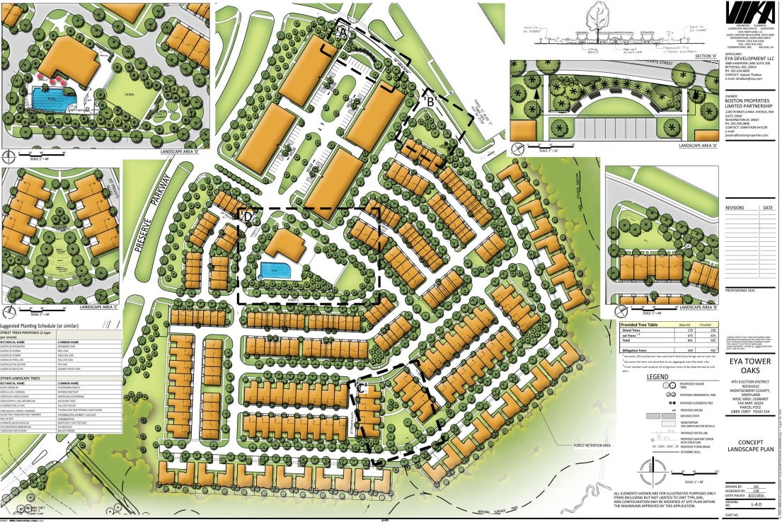 Rockville Council Tentatively Approves New Neighborhood in Tower Oaks