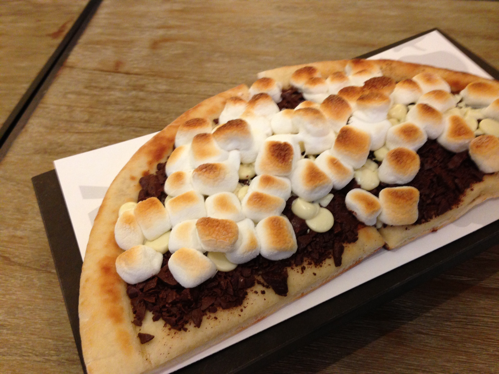 Chocolate Chunks Pizza Max Brenner Chocolate Chunk Pizza